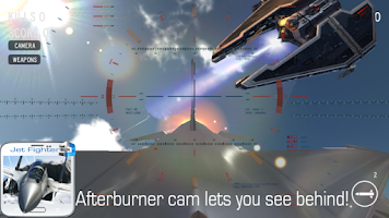 Screenshot of Jet Fighter - Dogfight 3D
