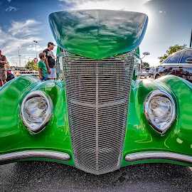 Green Grill by Ron Meyers - Transportation Automobiles