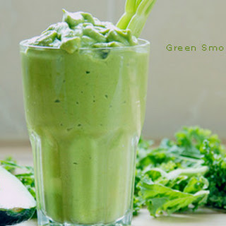 Green Smoothie Cocktail