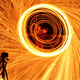 Camera never lies  by Colette Edwards - Abstract Light Painting (  )