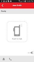 Screenshot of Verizon Push To Talk Plus