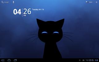 Screenshot of Stalker Cat Live Wallpaper