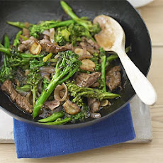 Beef Stir-fry With Broccoli & Oyster Sauce