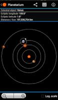 Screenshot of Planetarium