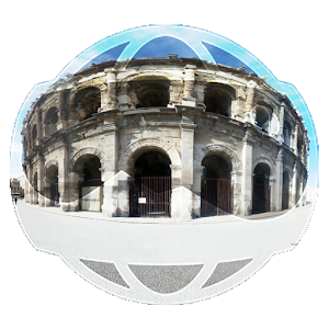 Photospheres 360° of Nîmes