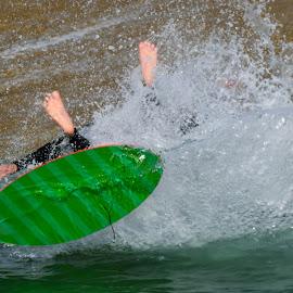 Wipeout by Jose Matutina - Sports & Fitness Surfing ( surfing, wipeout,  )