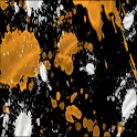 Orange Splatter Keyboard Skin icon