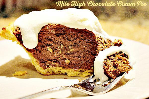 Mile High Chocolate Cream Pie Recipe | Yummly