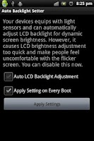 Screenshot of Auto Backlight Disabler