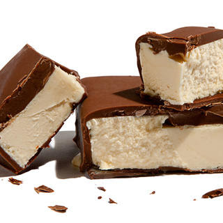Chocolate-Dipped Vanilla Ice Cream Bars