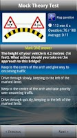 Screenshot of LGV Theory Test (UK) Free