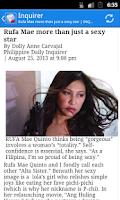 Screenshot of Philippines News