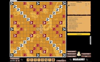 Screenshot of Scarabeo Digital