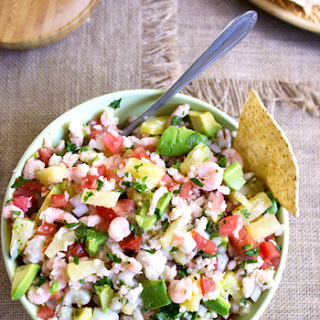 Pineapple Ceviche {Low Carb & GF}