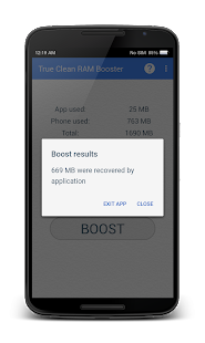 Free Download True Clean RAM Memory Booster APK for Android