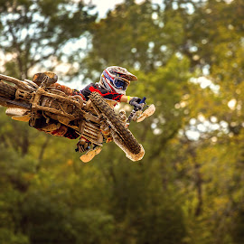 Thats how you do a turn down by Josh Rud - Sports & Fitness Motorsports ( extreme sports, honda, motocross, racing, fmx, off road, dirt bike, whip )