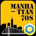 Download 70s Manhattan -KakaoHome Theme APK