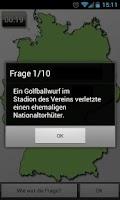 Screenshot of Wo ist der Ort? Fußball