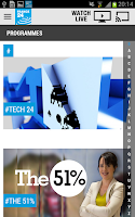 Screenshot of FRANCE 24 - Android