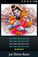 Screenshot of Shri Ramayan Aarti