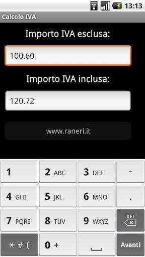 Calcolo IVA