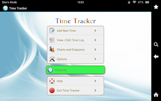 Screenshot of Time Tracker