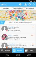 Screenshot of Stootie, petites annonces 3.0