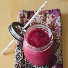 Julia's Beet, Banana, and Raspberry Smoothie