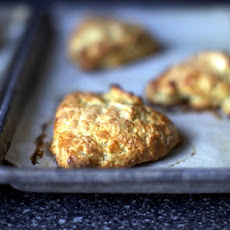 Warm Cheddar Scones with Cumin