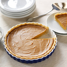 Maple Bourbon Sweet Potato Pie