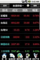 Screenshot of 豐農證券-讓您發發