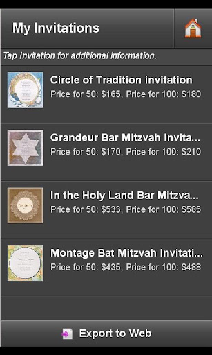 【免費生活App】Bar Mitzvah Invitation Finder-APP點子