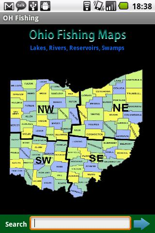 Ohio Fishing Maps - 6 800 Maps