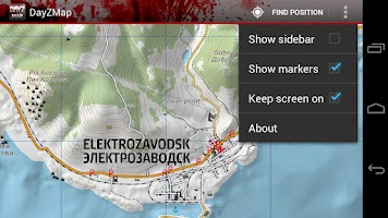 Screenshot of DayZ Map