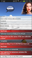 Screenshot of EVA Free - (Siri for Android)
