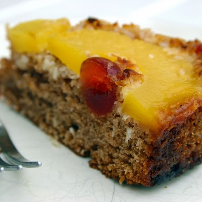 Pineapple And Coconut Chocolate Upside-down Cake