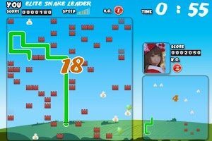 Screenshot of 貪吃蛇 - 對戰版
