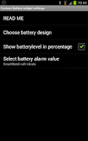 Screenshot of Custom Battery for SmartWatch