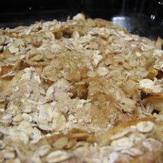 Healthier Apple Crisp