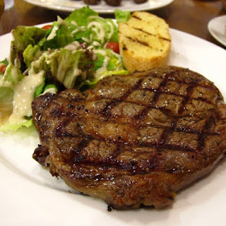 Rib-Eye Steak Au Poivre With Balsamic Reduction Recipes — Dishmaps