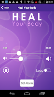 Screenshot of Heal Your Body - Hypnotherapy