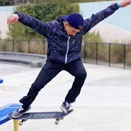 by Patrick Sherlock - Sports & Fitness Skateboarding