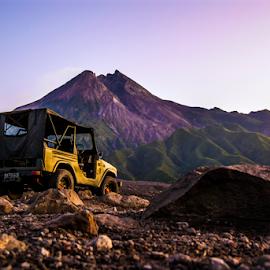Merapi Vulcano by Fuadi Afif - Landscapes Mountains & Hills