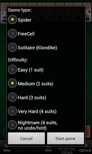 Solitaire Diamond Premium - screenshot