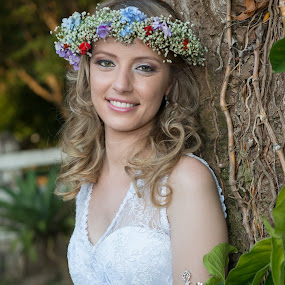 Noiva by Marcos Lamas - Wedding Bride ( Model, Portrait, Untouched, Unedited, Non-photoshop )