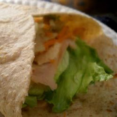 Rowing Team's Turkey Reuben Wraps