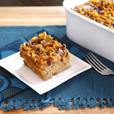 Rum Raisin Cranberry Kugel