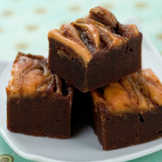 Chocolate Peanut Butter Swirled Fudge