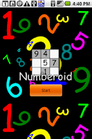 Screenshot of Numberoid