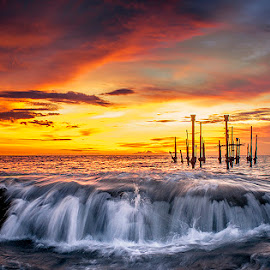 Ampenan Beach by Aulia Yusuf - Landscapes Sunsets & Sunrises